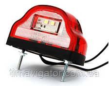 Подсветка номерного знака LED WAS 409 (красная)