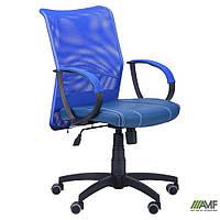 Кресло офисное Лайт, низкая спинка NET АМФ-8 Сетка, К/з Неаполь, Сидней