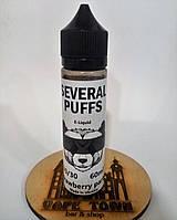 Жидкость Several Puffs Strawberry Party (0 мг/мл) 60ml.