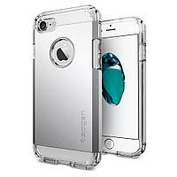 Чехол Spigen для iPhone 7 / 8 Tough Armor, Satin Silver, фото 1