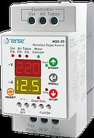 Контроллер 1 фазного погружного скважинного насоса до 4кВт уровни воды защита сухого хода цена купить
