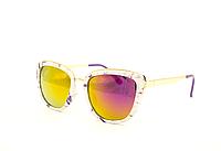 Солнцезащитные женские очки кошачий глаз Aedoll