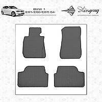 Автомобильные коврики  BMW1 (E81/E82/E87) 2004-