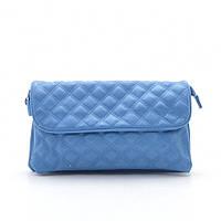 Женская стеганая сумка-клатч через плечо Fashion 8844 v.2 blue синий