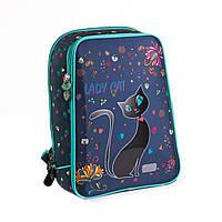 Ранец рюкзак ZIBI для девочки школьный Shell Lady Cat  (2017) new