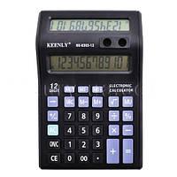 Калькулятор Кeenly KK 8303-12, 2 дисплея, подставка для ручек (128 х 196)