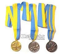 Медаль спортивная (1, 2, 3 место)