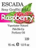 Парфюмерное масло версия аромата Sexy Graffiti  Escada нота Raspberry - 15 мл