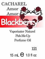 Композиция парфюмерная версия аромата Amor Amor Cacharel нота Blackberry - 15 мл