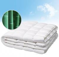Одеяло  Le Vele Embos Bambu нанофайбер 195-215 см белое