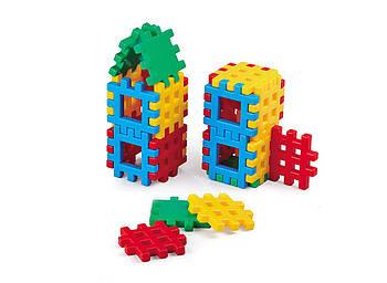 """Конструктор дитячий """"Блоки"""" 24 елемента. Виробництво Польща. Гарантія якості. Швидка доставка"""