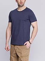 Мужская футболка LC Waikiki синего цвета 100% хлопок