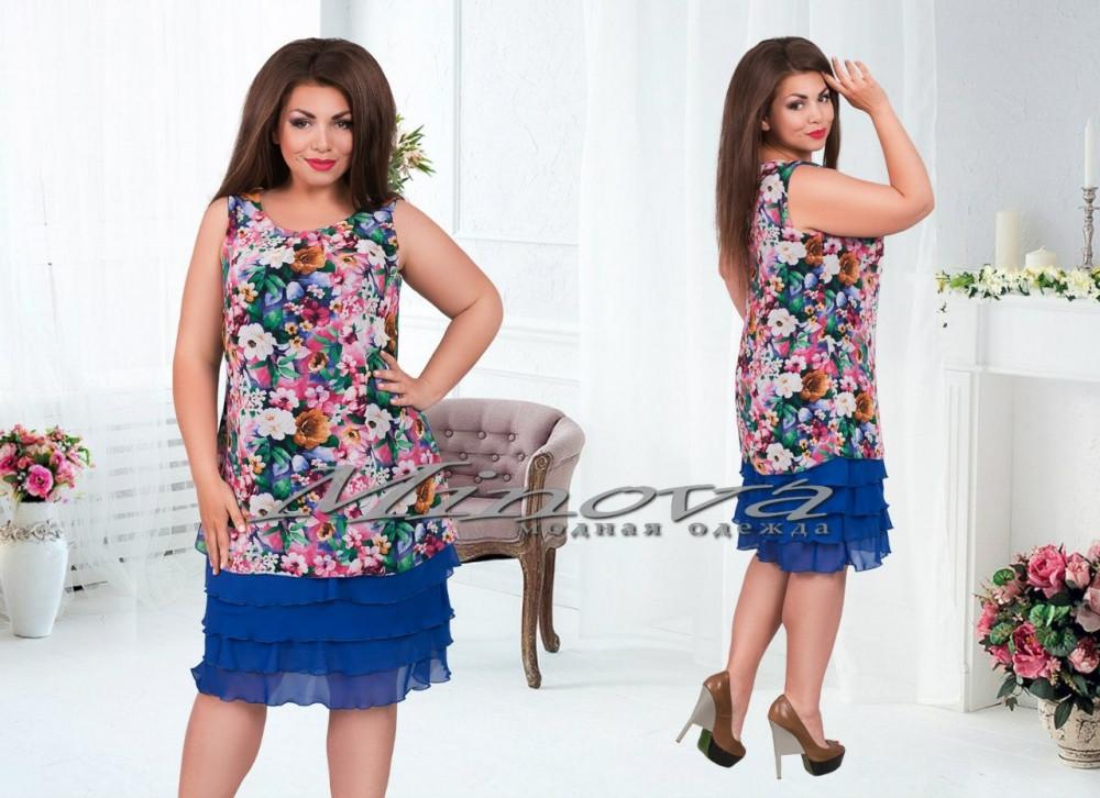 c3d0978b160 Шифоновое платье 243 - Интернет-магазин Parad Mod. Одежда украинского  производства в Одесской области