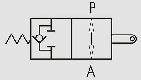 Конечный выключатель нормально открытый V-FCR 1T 60, фото 2