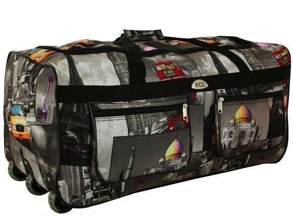 Дорожная сумка на колесах RGL A2 110 л S - Интернет-магазин ТЕХГАРАНТ в Киеве