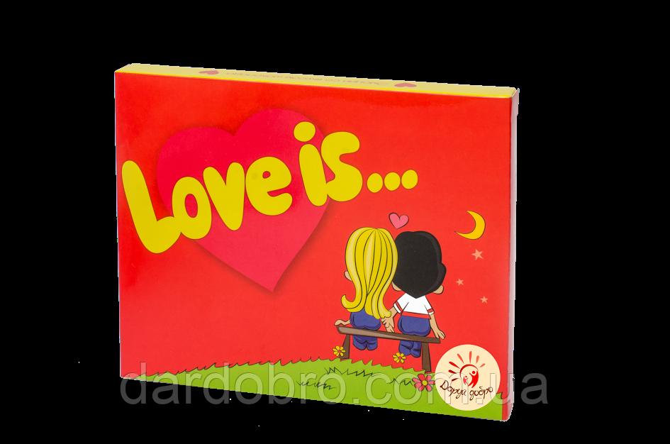 "Набор шоколадный Мини ""Love is"" 12 шт"