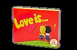 """Набір шоколадний Міні """"Love is"""" 12 шт"""