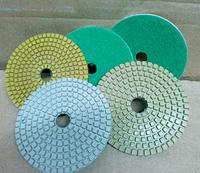 Гибкие полировальные и шлифовальные круги(черепашки)диаметром 125