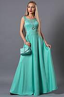 Нежное нарядное  женское длинное  платье