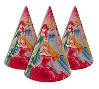 Святкові карнавальні ковпачки Шість принцес