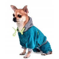 Комбинезон для собак Pet Fashion Плюш XXS, Длина спины: 18-22 см, обхват груди: 25-29 см (цвета разные)