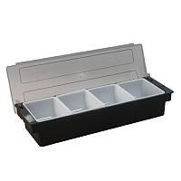 Барный контейнер/ящик 4 секции