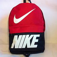 Рюкзак молодіжний Nike, Найк чорний з червоним ( код: IBR072BR ), фото 1