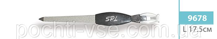 Пилочка для ногтей SPL 9678, 17.5 см с триммером для кутикул  2 в 1 - Оптовая компания Почти всё в Харькове