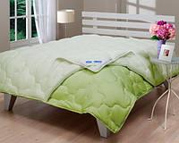 Ковдри Le Vele Double Green нанофайбер 195-215 * 2 см зелене