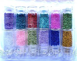 Бульонки 12 кольорів в пляшечках