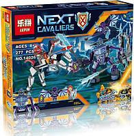 """Конструктор Lepin 14026 Nexo Knight (аналог Lego 70359) """"Ланс против Монстра-молнии"""""""