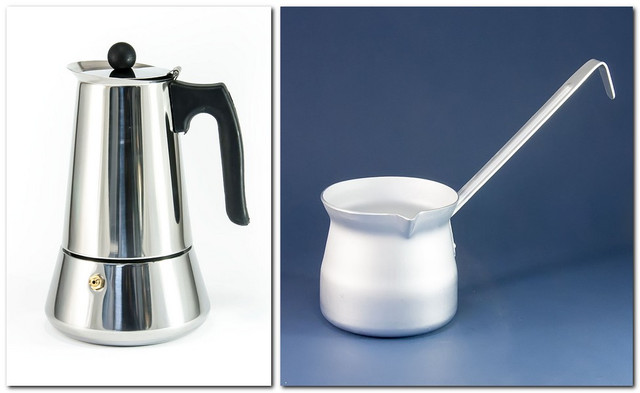 Кофеварки, турки (джезвы), чайники, кофемолки, заварники (все для заваривания чая и кофе)