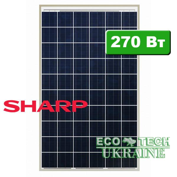 SHARP  ND-RJ270 солнечная панель (батарея) поликристалл