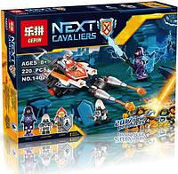 "Конструктор Lepin 14027 Nexo Knight (аналог Lego 70348) ""Турнирная машина Ланса"""