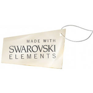 Серьги для ушей Biojoux BJ0840 Snow Crystal 4mm SWAROVSKI, фото 2