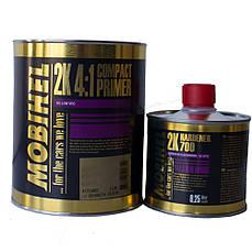 Грунт акриловый Mobihel HS 4+1 (компактпраймер) 1л + отвердитель 700 0,25л белый