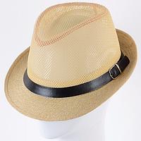 Летняя шляпа челентанка под мужской стиль