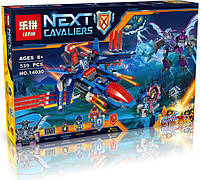 "Конструктор Lepin 14030 Nexo Knight (аналог Lego 70351) ""Самолёт-истребитель «Сокол» Клэя"""