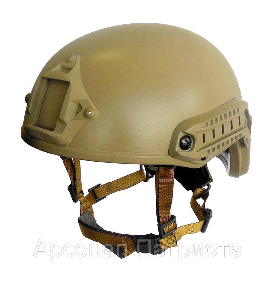 "Fast шлем кевларовый десантный ""TOR-D"", класс защиты 1А, Украина"