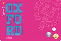 """Подложка пластиковая """"Oxford"""" розовая PP 1 Вересня"""