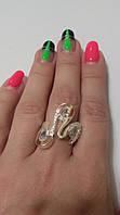 Кольцо из серебра и золота Ядвига