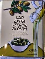 Оливковое масло Olio Extra Vergine Di Oliva 3 л первого отжима екстра