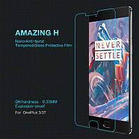 Nillkin OnePlus 3(A3000)/3T Amazing  Nanometer Anti-Explosion Tempered Glass Screen Protector Защитное Стекло