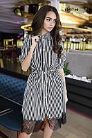 Платье с гипюром 01457 аф