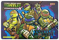 """Подложка пластиковая """"Ninja Turtles"""" PP 1 Вересня"""
