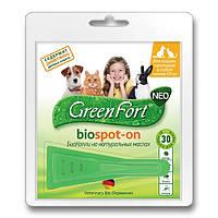 Биокапли GreenFort neo для кошек, кроликов и собак до 10 кг