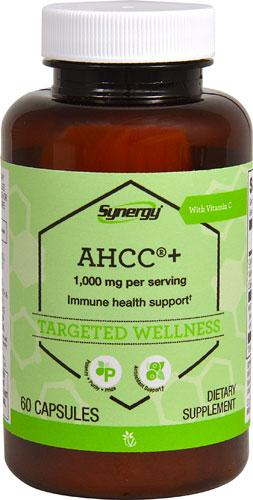 Vitacost Synergy, AHCC, Immune Support, 500 mg, 60 капсул