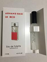 Женский мини парфюм 10 ml Armand Basi In Red