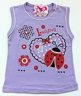 """Майка для девочки 5-6 лет (116), """"Lady Pink"""" Турция"""