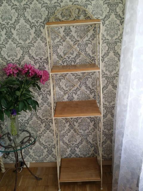 Кованая этажерка . -1